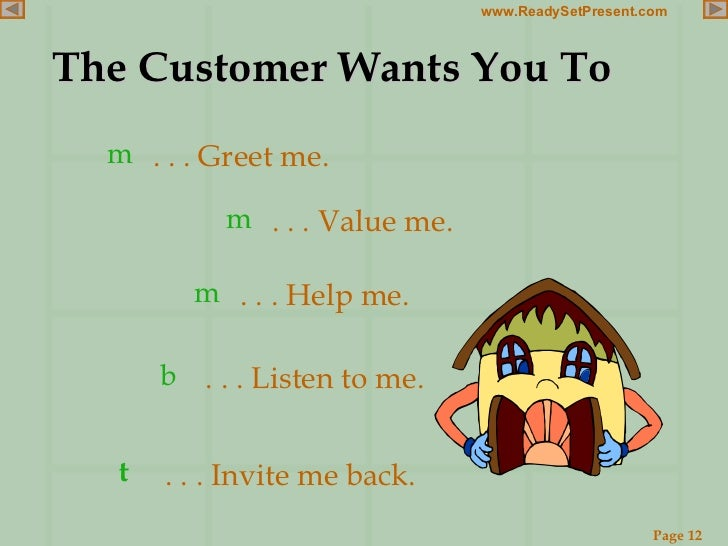 quality customer service skills