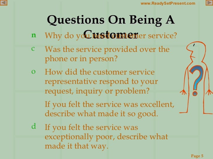 customer service powerpoint
