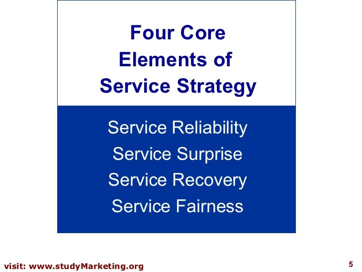 Customer service strategy thesis