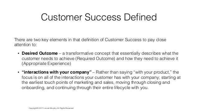 The Definitive Guide to Customer Success 2017 Slide 3
