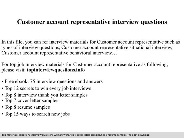 customer account representative interview questions 1 638jpg