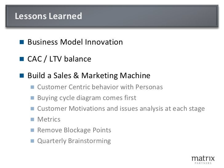 Customer Acquisition & Monetization -  Keys to your Business Model