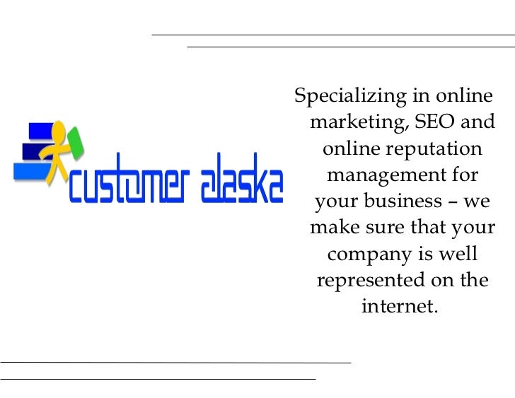 <ul><li>Specializing in online marketing, SEO and online reputation management for your business – we make sure that your ...