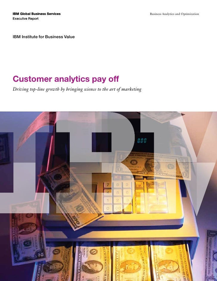 IBM Global Business Services                                          Business Analytics and OptimizationExecutive ReportI...