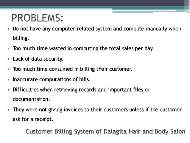 salon system thesis proposal