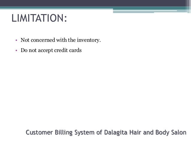 Scope and limitation of library system?