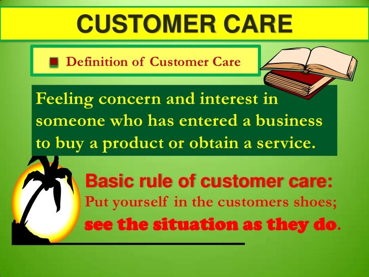 Customer Care N Public Relations