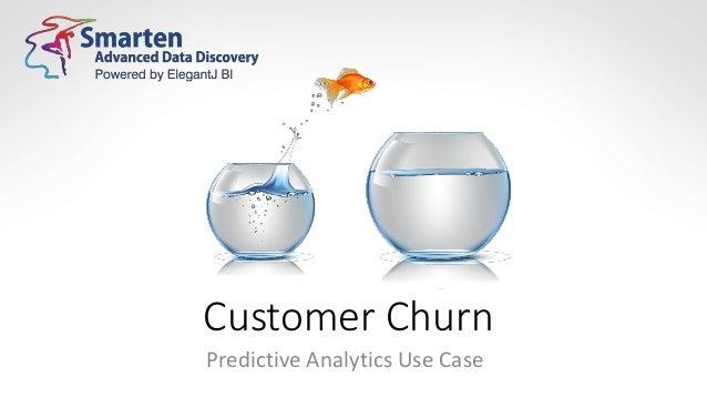 Customer Churn Predictive Analytics Use Case