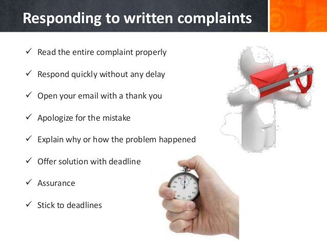 Handling Customer Complaints & Basic Email Etiquettes