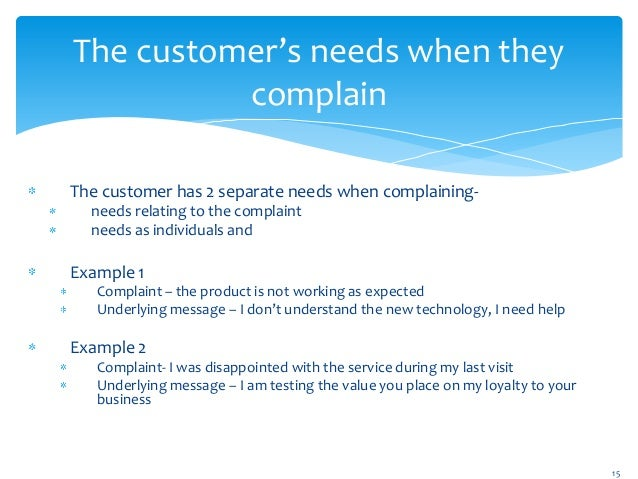 Customer complaint management 15 wajeb Image collections