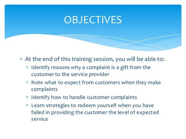 Customer Complaint Management