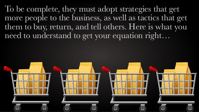 Customer creation equation slideshare Slide 3