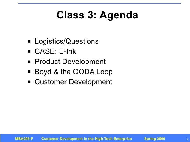 Customer Development 3: Introduction Slide 2