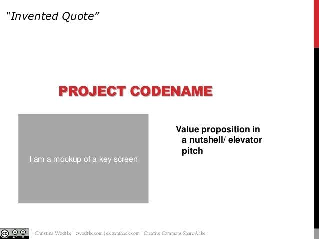 Customer Development Template Slide 2