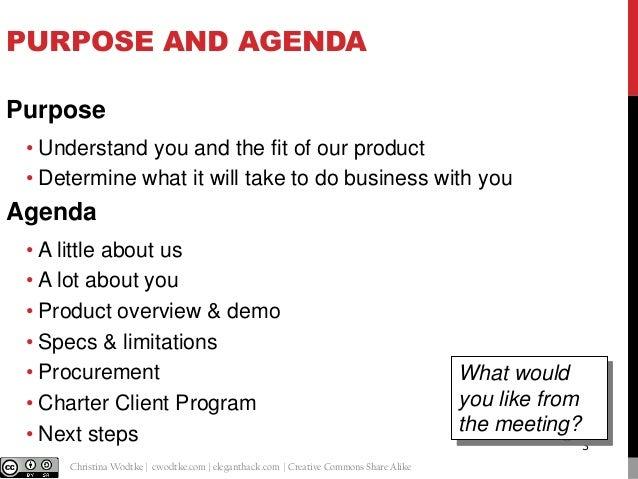 Customer Development Template Slide 3