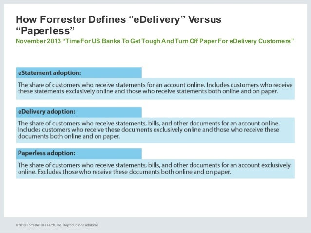 forrester research paperless Kipp houston takes procurement paperless  the most respected research  leading anaylsts from gartner and forrester research agree that jaggaer is.