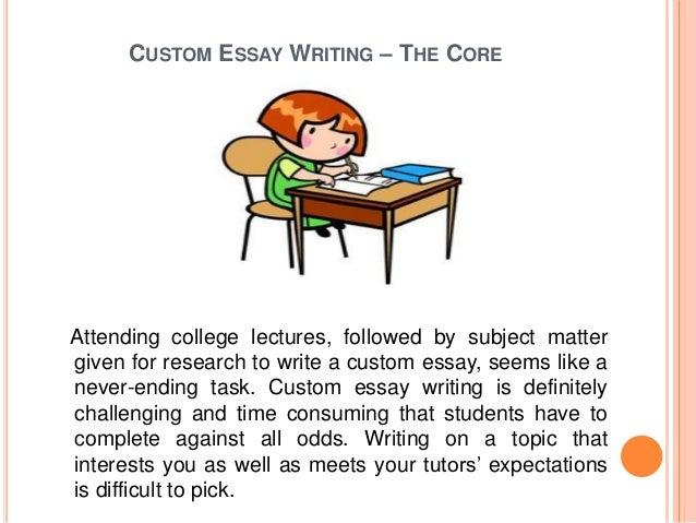 my custom essay
