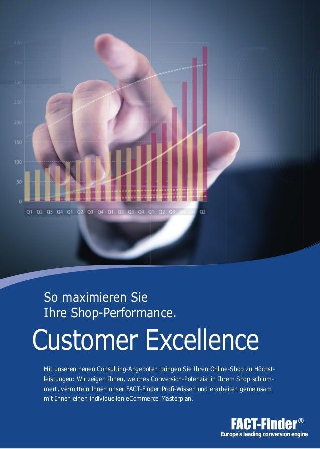 Europe΄s leading conversion engine Mit unseren neuen Consulting-Angeboten bringen Sie Ihren Online-Shop zu Höchst- leistun...