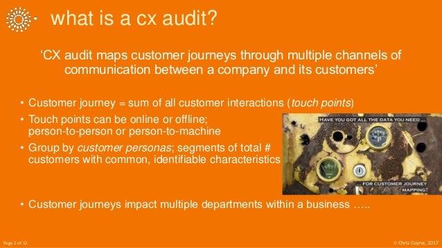 6 Step Customer Experience Audits Slide 2