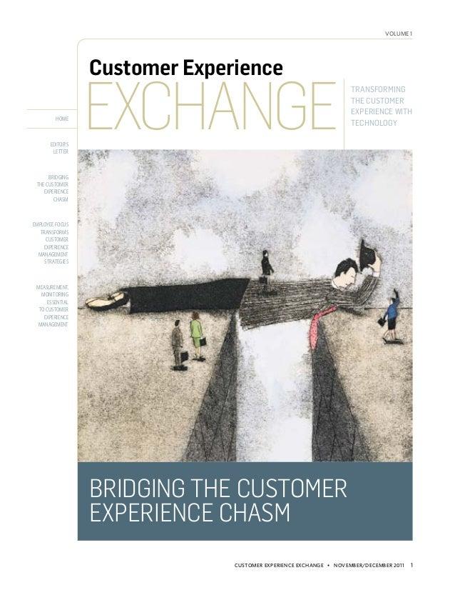 volume 1                  Customer Experience                  Exchange                                                   ...