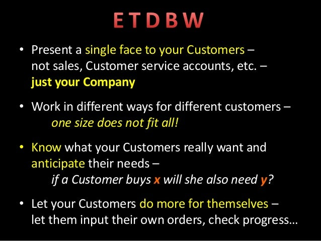  Your company's experience for new and existing/returning Customers  Shop competitors / industry peers – how do you feel...