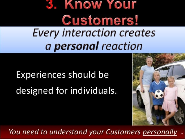 ?What 'bugs' your Customers? ?How can you fix that?