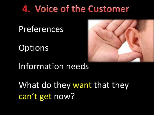 Exercise 2: Start your own Customer 'Bug' List Instructions 1. Identify one thing that 'bugs' your Customers now 2. List C...