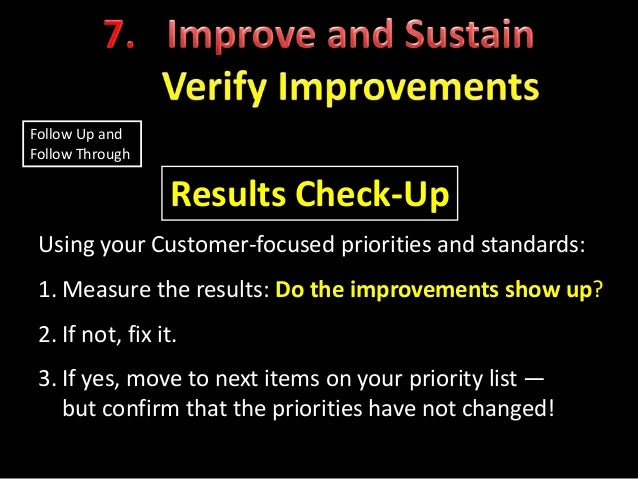 The Customer may not always be right – but she's always our Customer! It's not our fault – but it is our problem!