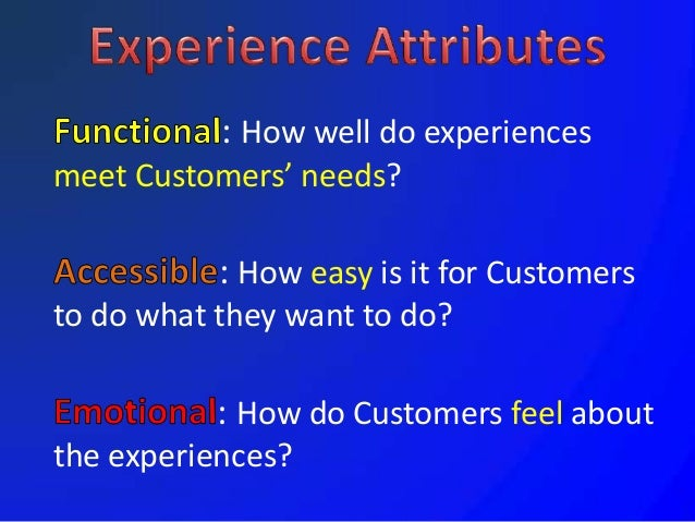 Customers perceive service in their own unique, idiosyncratic, emotional, irrational, end-of-the-day, and totally human te...