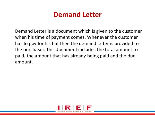 payment demand letter - lareal.co