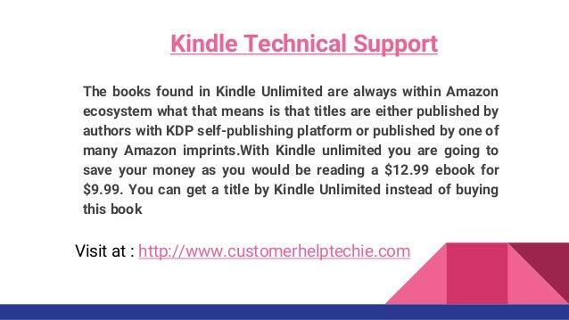 Customer Help Techie - Kindle technical service