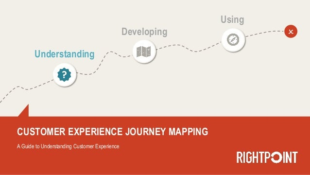 CUSTOMER EXPERIENCE JOURNEY MAPPING A Guide to Understanding Customer Experience Understanding Developing Using O