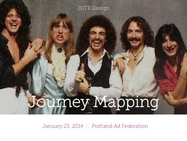 ISITE Design  Journey Mapping January 23, 2014 :: Portland Ad Federation