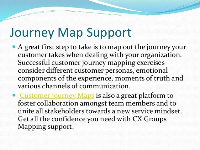 Customer Journey Mapping Software - Journey mapping software