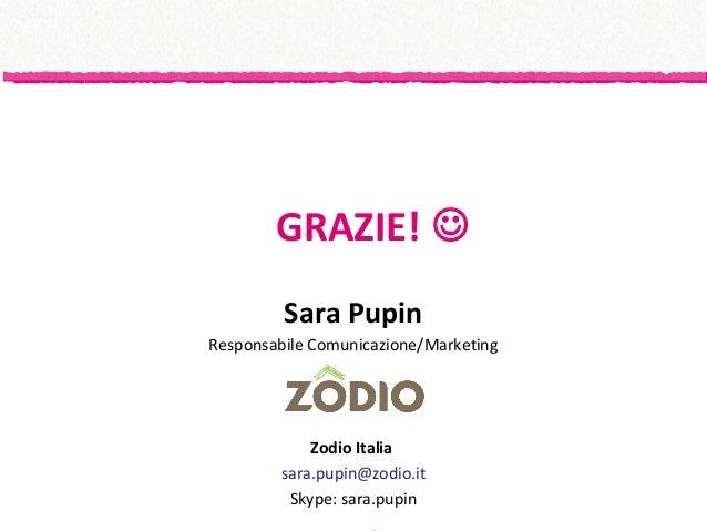 Customer journey map for Zodio italia