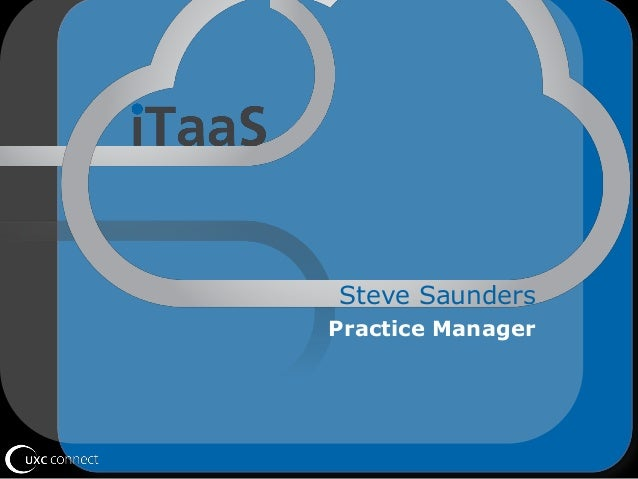 Steve Saunders Practice Manager