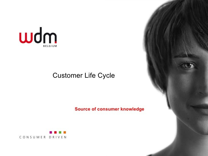 Customer Life Cycle Source of consumer knowledge