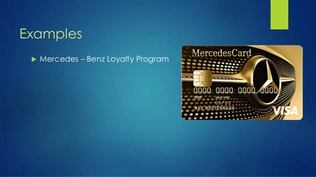 Customer loyalty crm for Mercedes benz loyalty discount