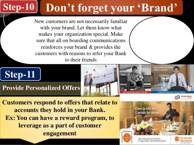 Step-10 Step-11 Don't forget your 'Brand' New customers are not necessarily familiar with your brand. Let them know what m...