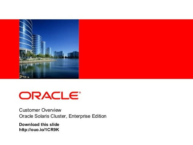 Download oracle solaris cluster essentials (oracle solaris system.