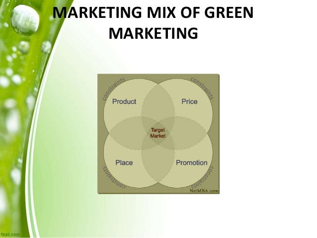 case study of green marketing 2(14) a case study is expected to capture the complexity of a single case, and the methodology which enables this has developed within the social sciences.