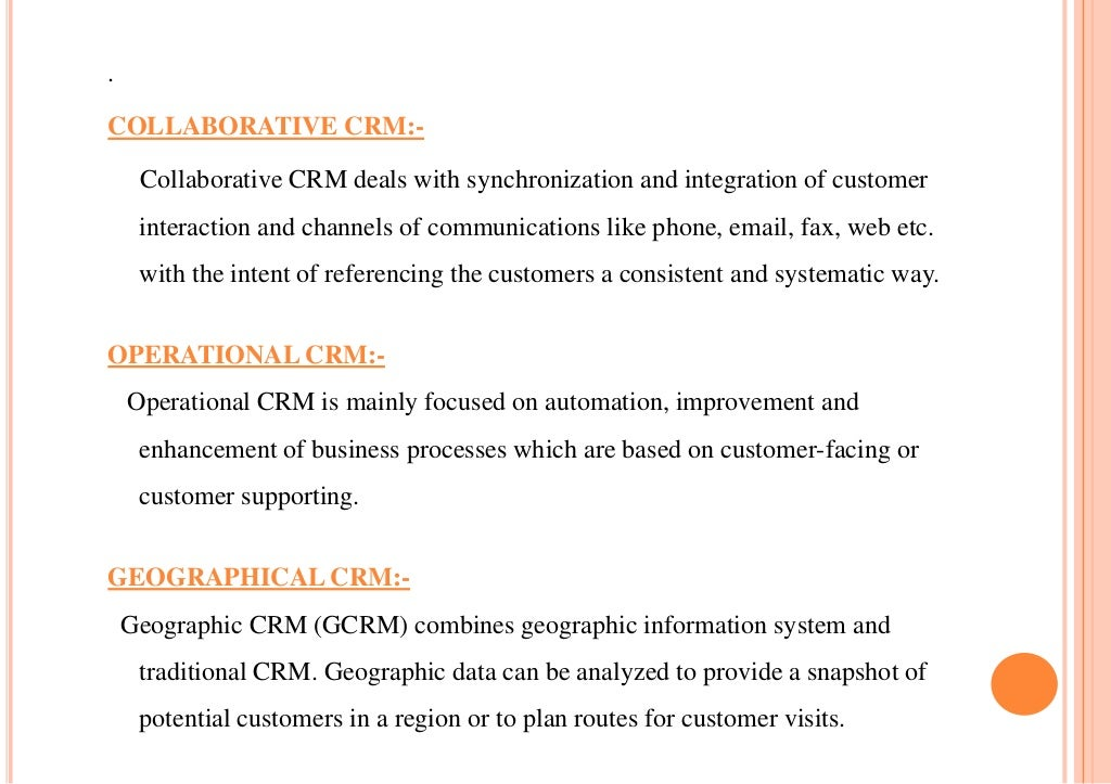 customer relationship management crm at doctors surgery Ability to pay, reason for surgery, how they found you – all need to be captured  in your crm (customer relationship management) system  this email should  include information about the procedure of interest, the doctor and your facility.