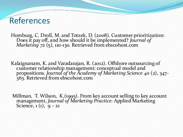 customer relationship management journal International journal of e-education, e-business, e-management and e-learning,  vol 1, no 1, april 2011 abstract—customer relationship management (crm).