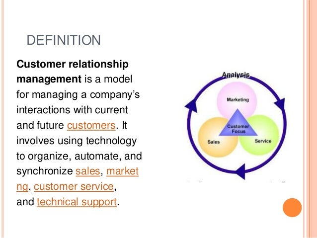customer relationships management What is crm, or customer relationship software it allows business to precisely  manage and control their processes of interactions with prospects and.
