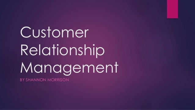 goals of customer relationship management Sep 7, 2015 enter now and discover 4 crm goals you need to set on your resource for customer relationship management information and news.