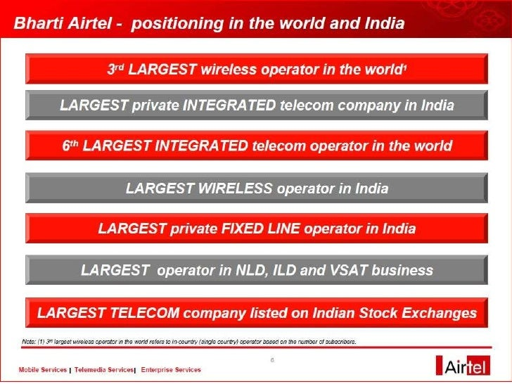 •The Company has ensured that the waiting time in the Airtel world is low.  •The Company has made the systems as the Custo...
