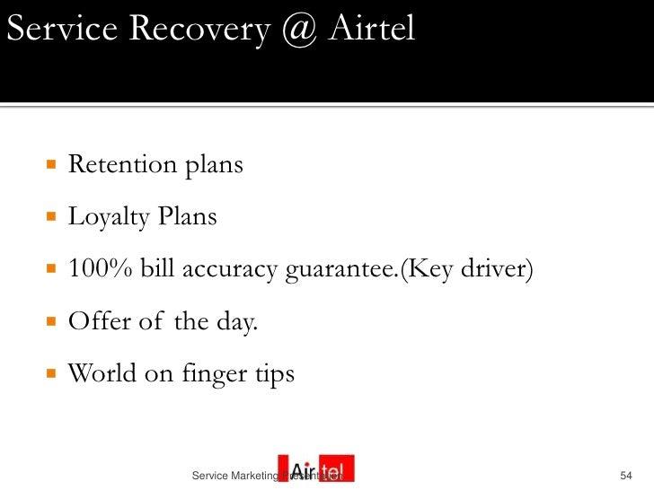 Customer Relationship Management (Airtel)