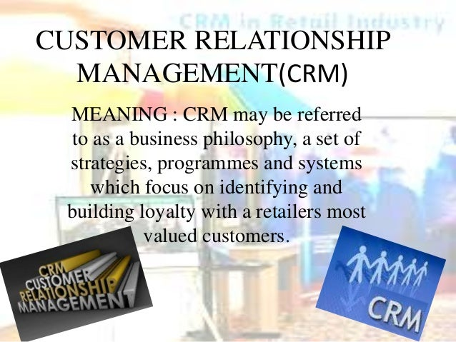 meaning of relationship management