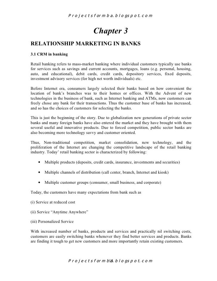 importance of marketing in banking sector pdf