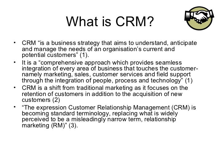 what is the purpose of customer relationship management